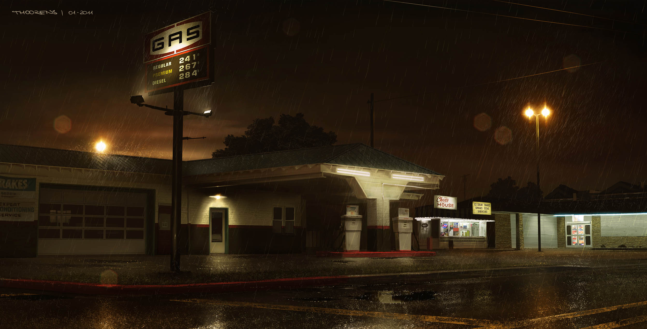 2011 | Hunted | Gas Station
